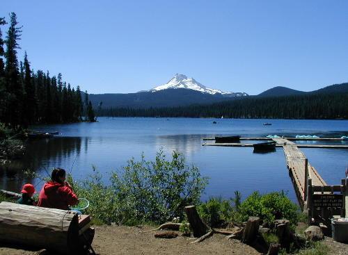 Cascade Ramblings Cascader Olallie Lake Olallie Scenic