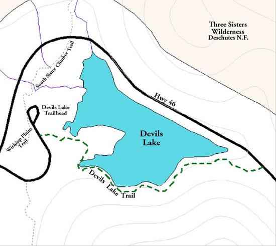 picture photo devils lake deschutes - photo #31